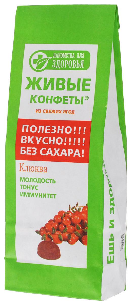 Лакомства для здоровья Мармелад желейный с клюквой, 170 г