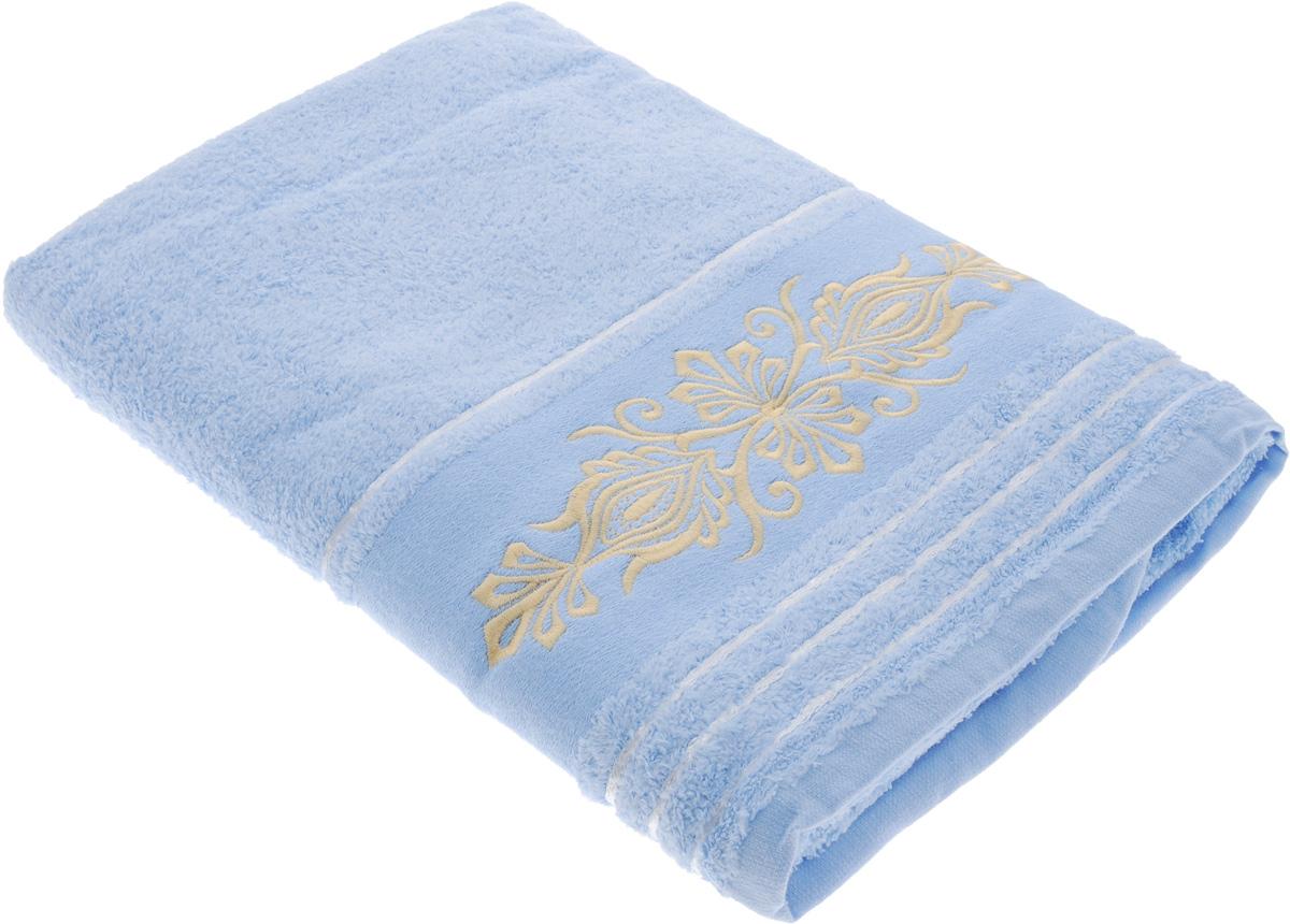 Полотенце Arya Mondo, цвет: голубой, 70 х 140 смF0003552_голубойПолотенце Arya Mondo выполнено из 100% хлопка. Изделие отлично впитывает влагу, быстро сохнет, сохраняет яркость цвета и не теряет форму даже после многократных стирок. Такое полотенце очень практично и неприхотливо в уходе. Оно создаст прекрасное настроение и украсит интерьер в ванной комнате.
