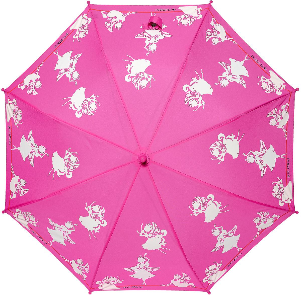Зонт детский Flioraj 051210051210 FJМеханический, прочный детский зонт - надежная защита в непогоду. Яркие цвета поднимут настроение, а интересный эффект - проявление красок на рисунке - будет удивлять и радовать каждый раз! Предназначен для детей младшего и среднего школьного возраста. Для удобства предусмотрена безопасная технология открывания и закрывания зонта. Спицы зонта изготовлены из долговечного, но при этом легкого фибергласса, что делает его ветроустойчивым и прочным.