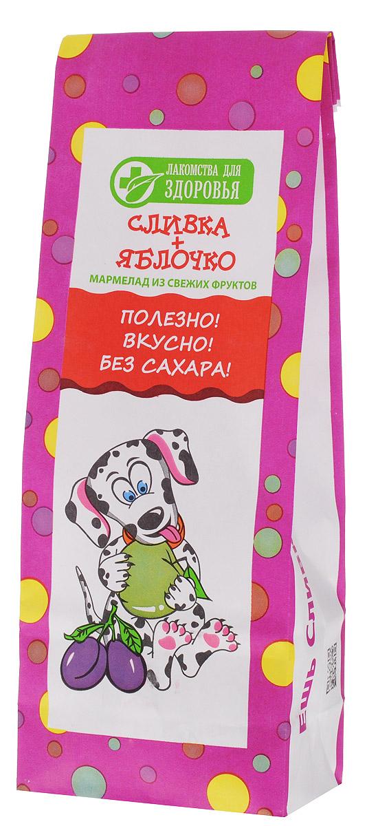 Лакомства для здоровья Сливка+Яблочко мармелад желейный, 105 г МН63.105