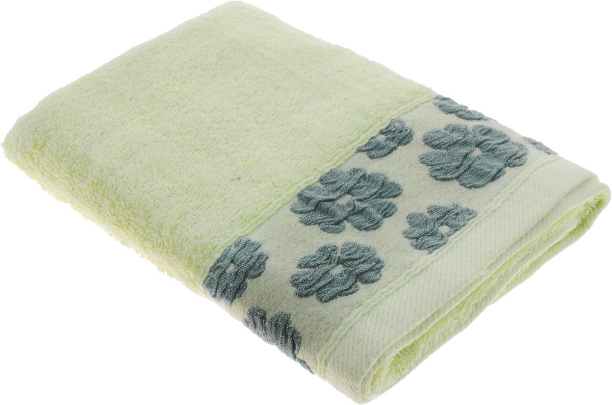 Полотенце Arya Manzo, цвет: зеленый, 50 х 100 смF0003380ЗеленыйПолотенце Arya Manzo выполнено из 100% хлопка. Изделие отлично впитывает влагу, быстро сохнет, сохраняет яркость цвета и не теряет форму даже после многократных стирок. Такое полотенце очень практично и неприхотливо в уходе. Оно создаст прекрасное настроение и украсит интерьер в ванной комнате.