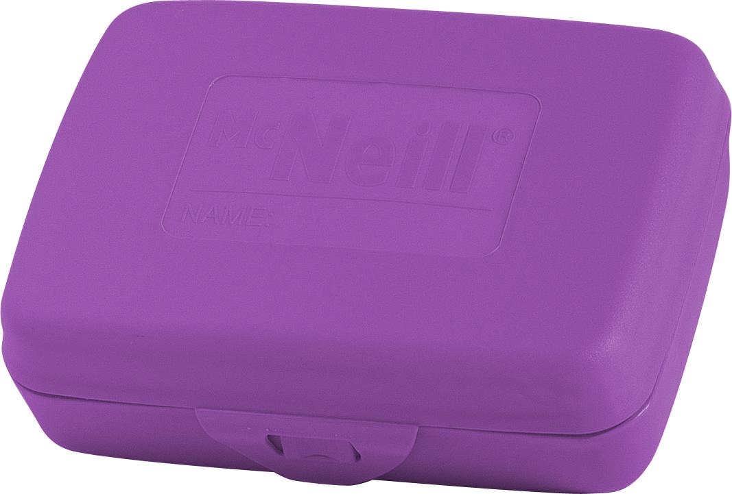 Mc Neill Контейнер для еды с разделителем цвет лиловый ( 3408800165 )