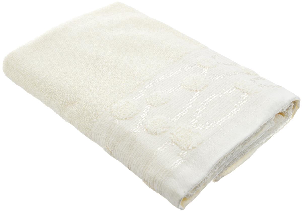 Полотенце Arya Punto, цвет: молочный, 50 х 100 смF0003443_молочныйПолотенце Arya Punto выполнено из 100% хлопка. Изделие отлично впитывает влагу, быстро сохнет, сохраняет яркость цвета и не теряет форму даже после многократных стирок. Такое полотенце очень практично и неприхотливо в уходе. Оно создаст прекрасное настроение и украсит интерьер в ванной комнате.