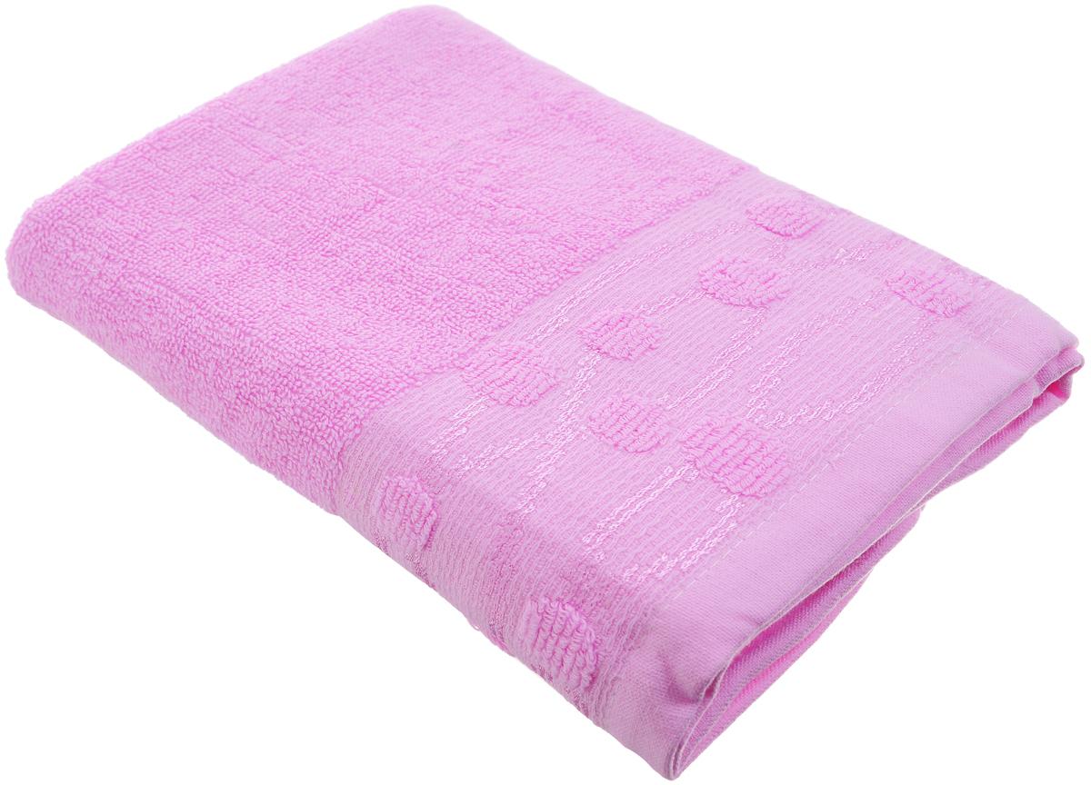 Полотенце Arya Punto, цвет: розовый, 50 х 100 смF0003443_розовыйПолотенце Arya Punto выполнено из 100% хлопка. Изделие отлично впитывает влагу, быстро сохнет, сохраняет яркость цвета и не теряет форму даже после многократных стирок. Такое полотенце очень практично и неприхотливо в уходе. Оно создаст прекрасное настроение и украсит интерьер в ванной комнате.