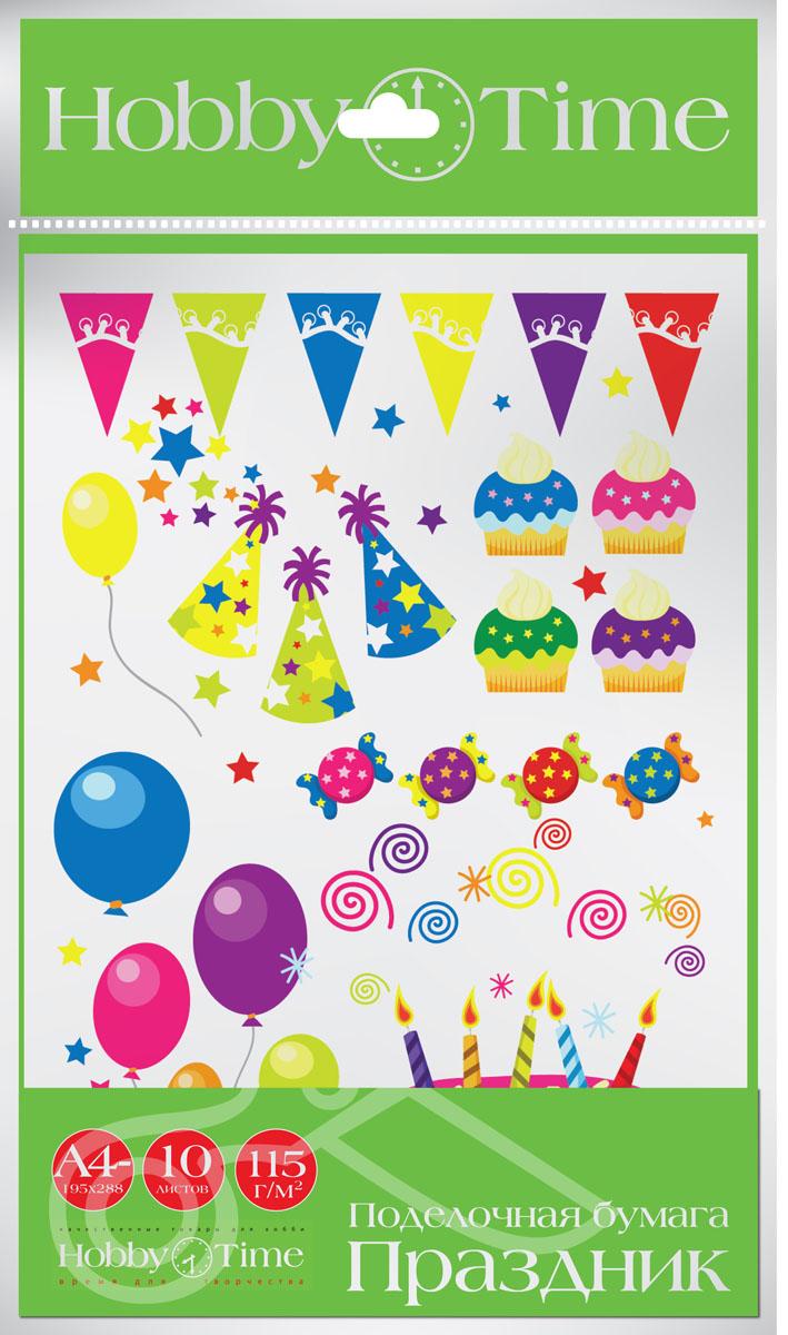Альт Набор цветной бумаги Праздник 10 листов11-410-153Набор цветной бумаги Альт Праздник - готовое решение для создания ярких аппликаций. Все изображения выполнены с помощью полноцветной печати на высококачественной бумаге. В наборе десять листов десяти различных видов.