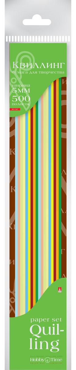 Альт Бумага для квиллинга 5 мм 500 полос 10 цветов2-072Цветная бумага для квиллинга Альт разработана для создания объемных композиций, украшений для открыток и фоторамок. Набор включает 10 видов крашенной в массе цветной бумаги, предварительно нарезанной на полосы шириной 5 мм. В наборе 500 полос (по 50 штук каждого цвета). Тонированная в массе бумага шириной 5 мм предназначена для скручивания в спирали с последующим приданием нужной формы.