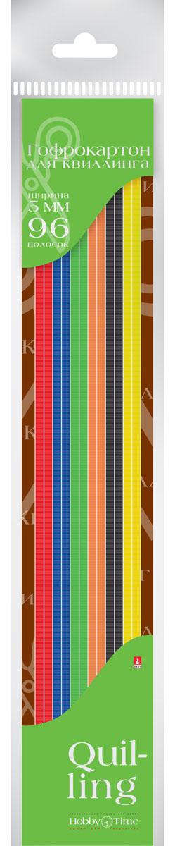 Альт Картон для гофроквиллинга 5 мм 96 полос 6 цветов2-079Гофрированный картон для квиллинга Альт обладает повышенной плотностью, что обеспечивает поделкам долговечность и прочность. Рельефная волнообразная фактура материала придает объемность готовым работам. Предварительно нарезанные узкие полоски шириной 5 мм используются для аппликаций и поделок в технике квиллинг, а также создания декоративных элементов для украшения шкатулок, фоторамок открыток. Набор включает 96 полосок шести насыщенных цветов. Создание поделок из цветного гофрированного картона поможет ребенку в развитии творческих способностей, увлечет и подарит ему праздник и хорошее настроение.
