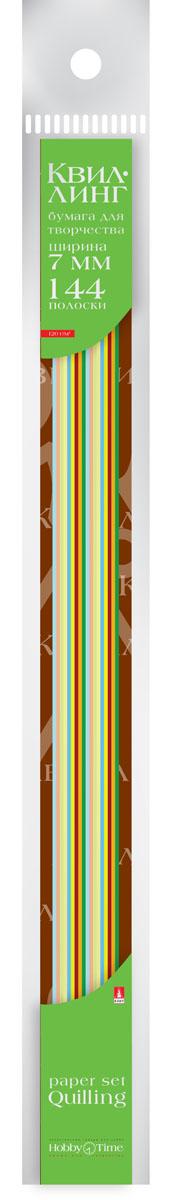 Альт Бумага для квиллинга 7 мм 144 полосы 12 цветов2-189Цветная бумага для квиллинга Альт разработана для создания объемных композиций, украшений для открыток и фоторамок. Набор из 144 полосок включает 12 ярких, насыщенных цветов (по 12 штук каждого). Высокая плотность позволяет готовым спиральным элементам держать форму, не раскручиваясь и не деформируясь. Ширина полосок составляет 7 мм. Тонированная в массе бумага предназначена для скручивания в спирали с последующим приданием нужной формы.