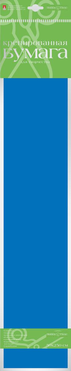 Альт Бумага креповая Флюоресцентная цвет синий2-059/02Креповая бумага Альт Флюоресцентная - подходящий материал для декора, объемных украшений и игрушек. Гофрированная жатая поверхность обеспечивает особую пластичность. Бумага не деформируется, сохраняет заданную форму, отлично сочетается с текстильными лентами, декоративными элементами. Необычный флуоресцентный эффект создает легкое сияние, которое поможет создать атмосферу праздника. Размер листа: 50 см х 250 см.