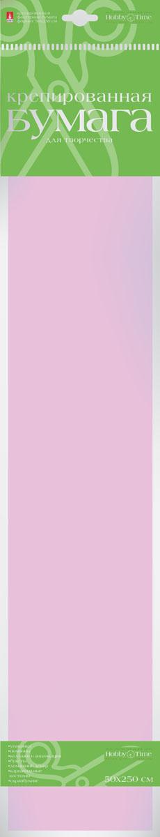 Альт Бумага креповая Пастельные цвета цвет сиреневый