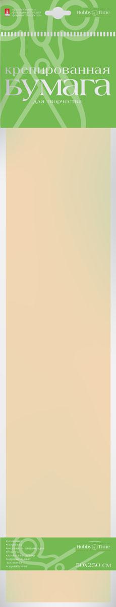 Альт Бумага креповая Пастельные цвета цвет персиковый2-058/03Креповая бумага Альт Пастельные цвета - подходящий материал для декора, объемных украшений и игрушек. Гофрированная жатая поверхность обеспечивает особую пластичность. Бумага не деформируется, сохраняет заданную форму, отлично сочетается с текстильными лентами, декоративными элементами. Размер листа: 50 см х 250 см.