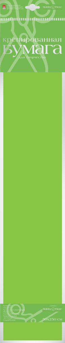 Альт Бумага креповая цвет ярко-зеленый2-060/12Креповая бумага Альт - подходящий материал для декора, объемных украшений и игрушек. Гофрированная жатая поверхность обеспечивает особую пластичность. Бумага не деформируется, сохраняет заданную форму, отлично сочетается с текстильными лентами, декоративными элементами. Размер листа: 50 см х 250 см.