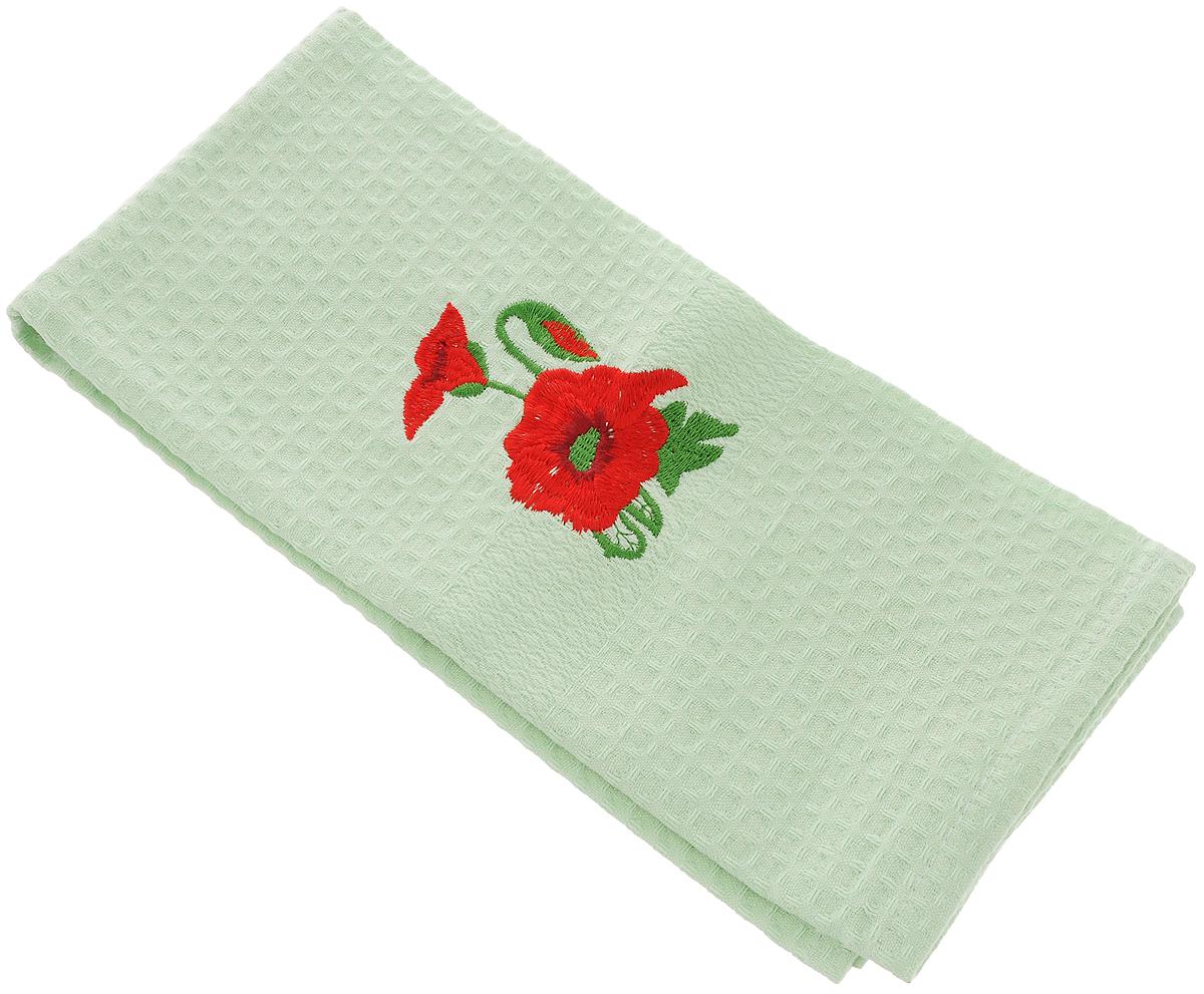 Полотенце кухонное Soavita, 40 х 60 см. 4880348803_светло-зеленый, красныйКухонное полотенце Soavita, выполненное из 100% хлопка, оформлено вышитым рисунком. Изделие предназначено для использования на кухне и в столовой. Такое полотенце станет отличным вариантом для практичной и современной хозяйки. Рекомендуется стирка при температуре 40°C.