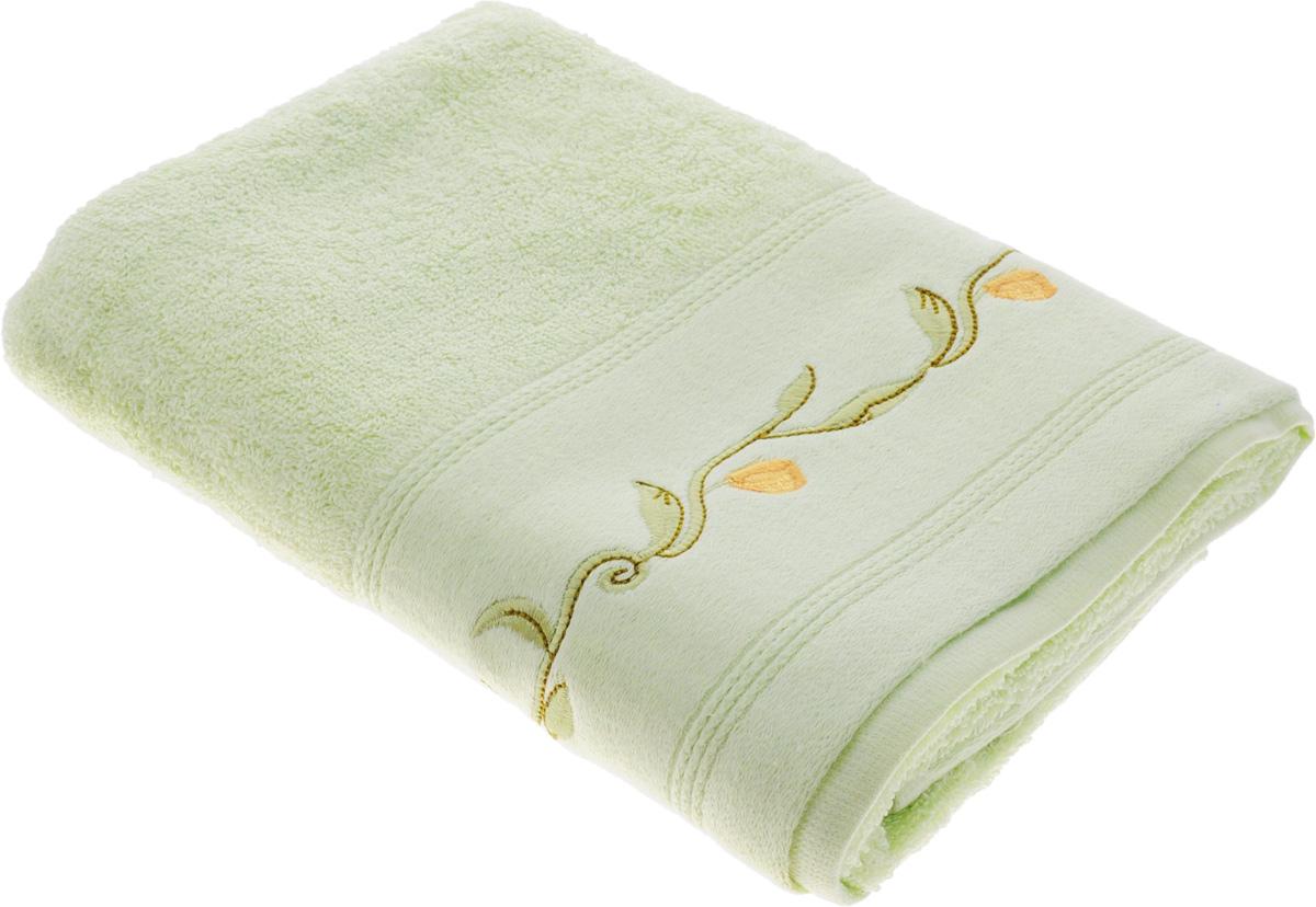 Полотенце Arya Gancio, цвет: зеленый, 50 х 100 смF0003441ЗеленыйПолотенце Arya Gancio выполнено из 100% хлопка. Изделие отлично впитывает влагу, быстро сохнет, сохраняет яркость цвета и не теряет форму даже после многократных стирок. Такое полотенце очень практично и неприхотливо в уходе. Оно создаст прекрасное настроение и украсит интерьер в ванной комнате.