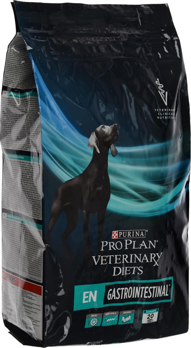 Корм сухой Pro Plan Veterinary Diets. EN для собак, при расстройствах ЖКТ, 5 кг12274656Pro Plan Veterinary Diets. EN - полнорационный диетический корм для щенков и взрослых собак при расстройствах пищеварения. Корм рекомендуется для компенсации расстройств пищеварения и нарушения экзокринной функции поджелудочной железы, с высокой усвояемостью ингредиентов и низким содержанием жира. Повышенный уровень электролитов и высокая усвояемость позволяют применять этот рацион для снижения острых нарушений кишечного всасывания. Товар сертифицирован.