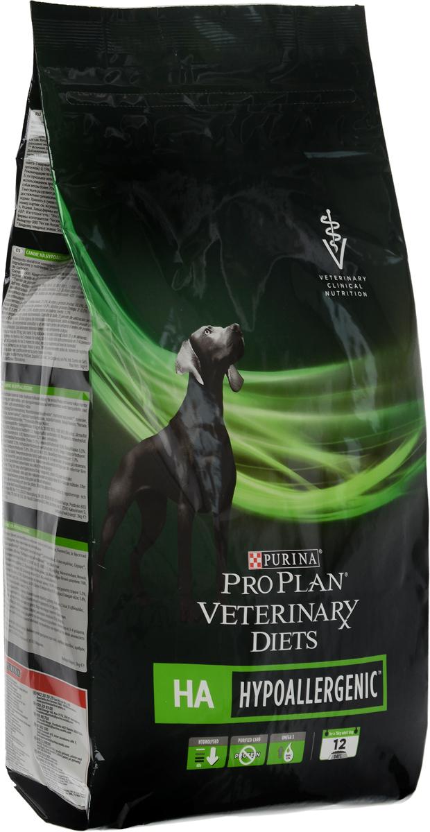 Корм сухой Pro Plan Veterinary Diets. HA для собак, профилактика аллергии, 3 кг12274252Pro Plan Veterinary Diets. HA - полнорационный диетический корм для щенков и взрослых собак при аллергических реакциях. Корм рекомендуется для снижения непереносимости ингредиентов и питательных веществ, на основе специально отобранных источников белка и углеводов. Товар сертифицирован.