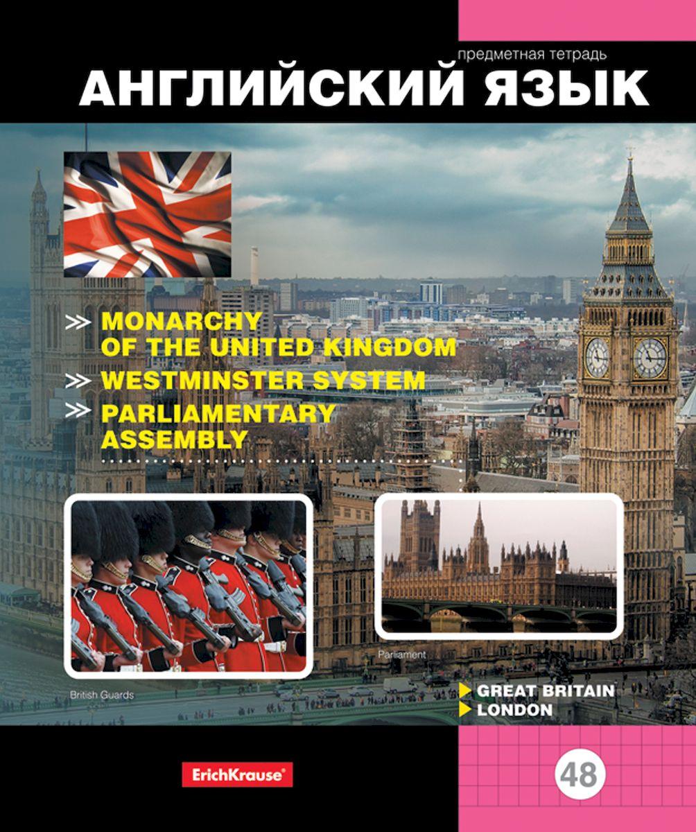 Erich Krause Тетрадь Online Journals 2 Английский язык 48 листов в клетку