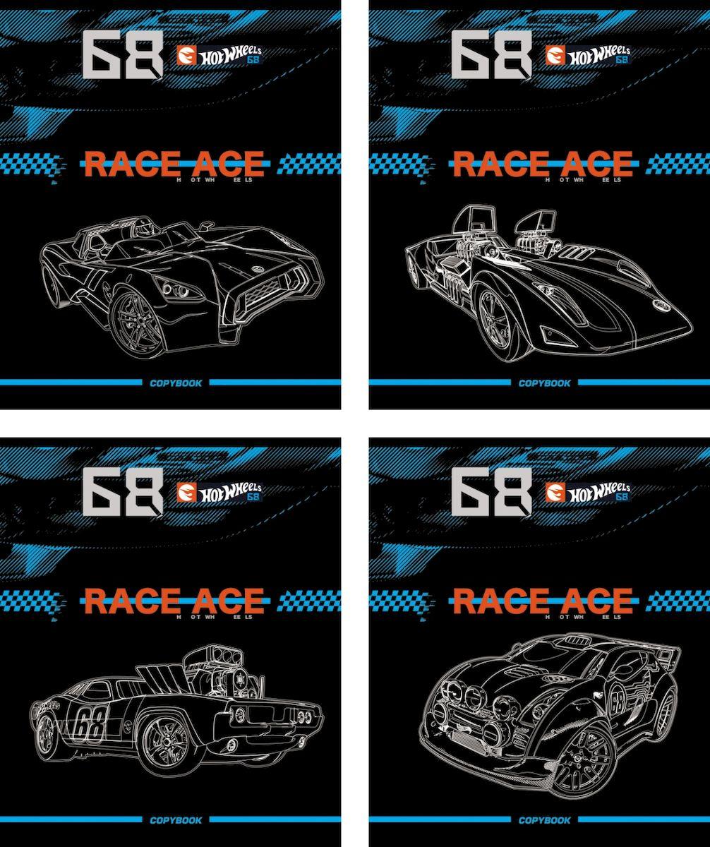Erich Krause Тетрадь Hot Wheels Concept 80 листов в клетку 39589