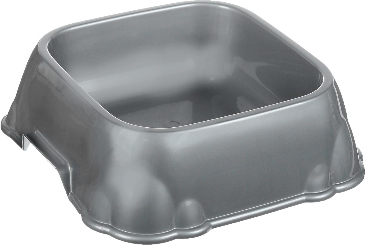 Миска для животных Каскад, цвет: серый, 1,2 л8301719_серыйМиска для животных Каскад изготовлена из высококачественного пластика и предназначена для корма и воды. Она порадует удобством использования как самих животных, так и их хозяев. Яркий дизайн придаст изделию индивидуальность и удовлетворит вкус самых взыскательных зоовладельцев. Объем: 1,2 л. Внутренний размер миски: 16,4 х 16,4 см. Размер основания: 21,5 х 21,5 см. Высота миски: 7 см.
