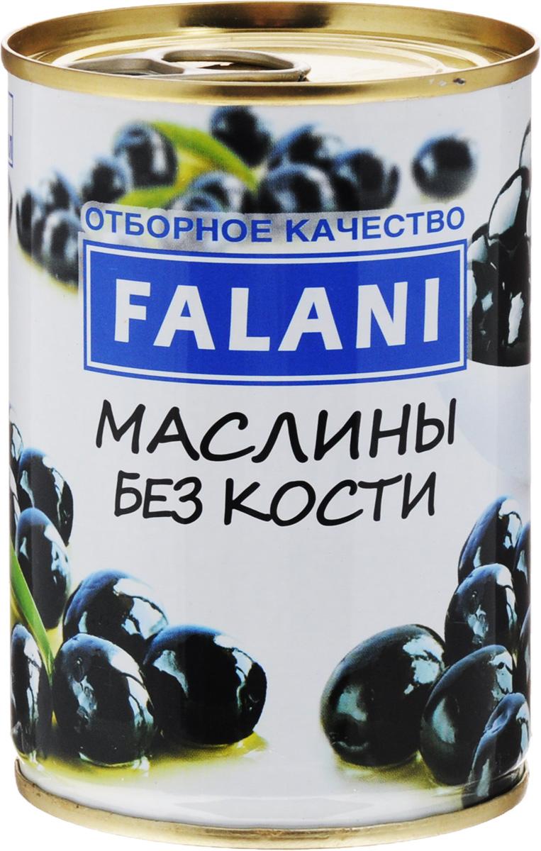 FALANI маслины без косточки, 280 г4002442809247Маслины без косточек FALANI из Испании отлично подойдут для украшения ваших блюд. С их помощью удастся оригинально оформить супы, рыбные закуски, салаты, овощи, тарталетки или канапе.
