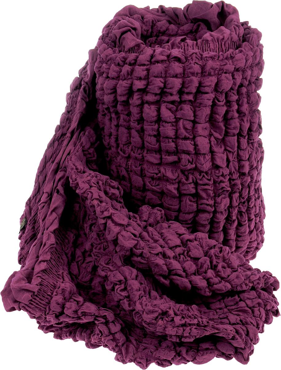 Чехол на трехместный диван Arya Burumcuk, цвет: фиолетовый8680943003959Чехол на трехместный диван Arya Burumcuk выполнен из 100% хлопка. Благодаря прочности ткани этот чехол станет идеальным решением защиты мебели. Кроме того, натуральный состав ткани гипоаллергенен, а потому безопасен для малышей или людей пожилого возраста. Мягкая ткань из высокопрочного хлопка обеспечит вашему дивану достойную защиту от воздействий, а современный стиль подарит ежедневную радость от обновленной обстановки в доме.