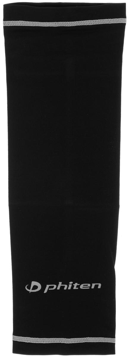 Рукав силовой Phiten X30, цвет: черный, серый. Размер М (23-29 см). SL523104SL523104Силовой рукав Phiten X30, выполненный из 85% полиэстера и 15% полиуретана, идеально подходит для поддержки и увеличения силы мышц (плеча/предплечия) спортсменов. Рукав снимает мышечное напряжение, повышает выносливость и силу мышц. Он мягко фиксирует суставы, но при этом абсолютно не стесняет движения. Пропитка Aqua Titan с фактором X30 увеличивает эластичность мышц и связок, а также хорошо поглощает и испарять пот, что позволяет продлить ощущение комфорта при тренировках. Изделие специально разработано таким образом, чтобы соответствовать форме руки и обеспечить плотное прилегание, а благодаря инновационным материалам, рукав действительно поможет вам в процессе тяжелой тренировки или любой серьезной нагрузки. Силовой рукав Phiten X30 способствует: - улучшению циркуляции крови в организме; - разгрузке поврежденного сустава; - уменьшению усталости; - снятию излишнего напряжения и скорейшему ...
