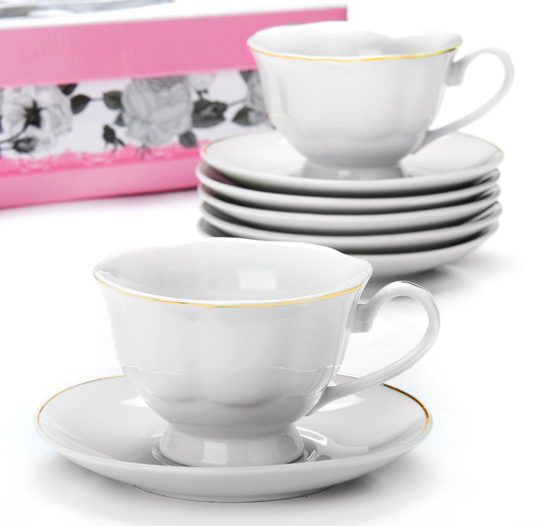Чайный сервиз Loraine, 180 мл, 12 предметов. 2593025930