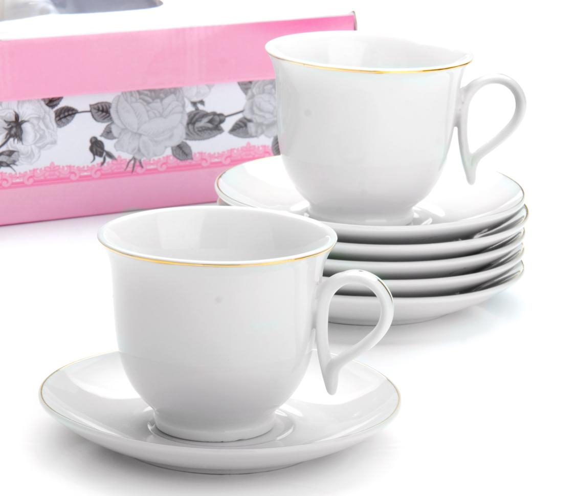 Чайный сервиз Loraine, 220 мл, 12 предметов. М25932
