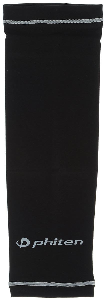 Рукав силовой Phiten X30, цвет: черный, серый. Размер S (19-25 см). SL523103SL523103Силовой рукав Phiten X30, выполненный из 85% полиэстера и 15% полиуретана, идеально подходит для поддержки и увеличения силы мышц (плеча/предплечия) спортсменов. Рукав снимает мышечное напряжение, повышает выносливость и силу мышц. Он мягко фиксирует суставы, но при этом абсолютно не стесняет движения. Пропитка Aqua Titan с фактором X30 увеличивает эластичность мышц и связок, а также хорошо поглощает и испарять пот, что позволяет продлить ощущение комфорта при тренировках. Изделие специально разработано таким образом, чтобы соответствовать форме руки и обеспечить плотное прилегание, а благодаря инновационным материалам, рукав действительно поможет вам в процессе тяжелой тренировки или любой серьезной нагрузки. Силовой рукав Phiten X30 способствует: - улучшению циркуляции крови в организме; - разгрузке поврежденного сустава; - уменьшению усталости; - снятию излишнего напряжения и скорейшему ...