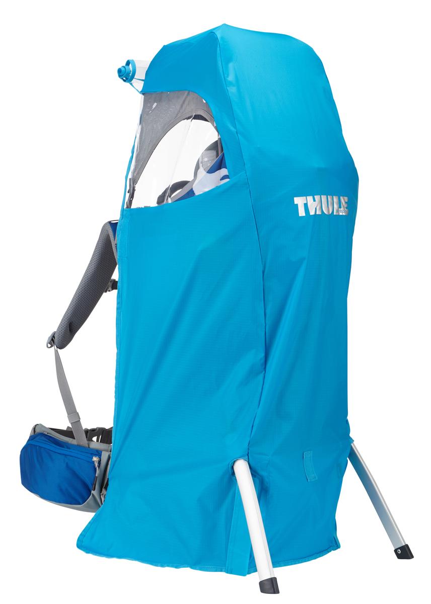 Влагозащитный чехол для рюкзака Thule Sapling Child Carrier, цвет: голубой210300Накидка от дождя для рюкзака-переноски Thule Sapling не даст вашему ребенку промокнуть Изготовлено из прочного нейлона (плотность волокна 70 ден) с водонепроницаемым полиуретановым покрытием и проклеенными швами для защиты от воды Специальный вшитый мешок для компактного хранения Эластичный ремень удерживает накидку от дождя при сильном ветре Шнурок для затягивания образует плотную петлю вокруг рюкзака для идеальной посадки Светоотражающий логотип обеспечивает вашу заметность в темное время суток Подходит для рюкзаков объемом 75–95 л