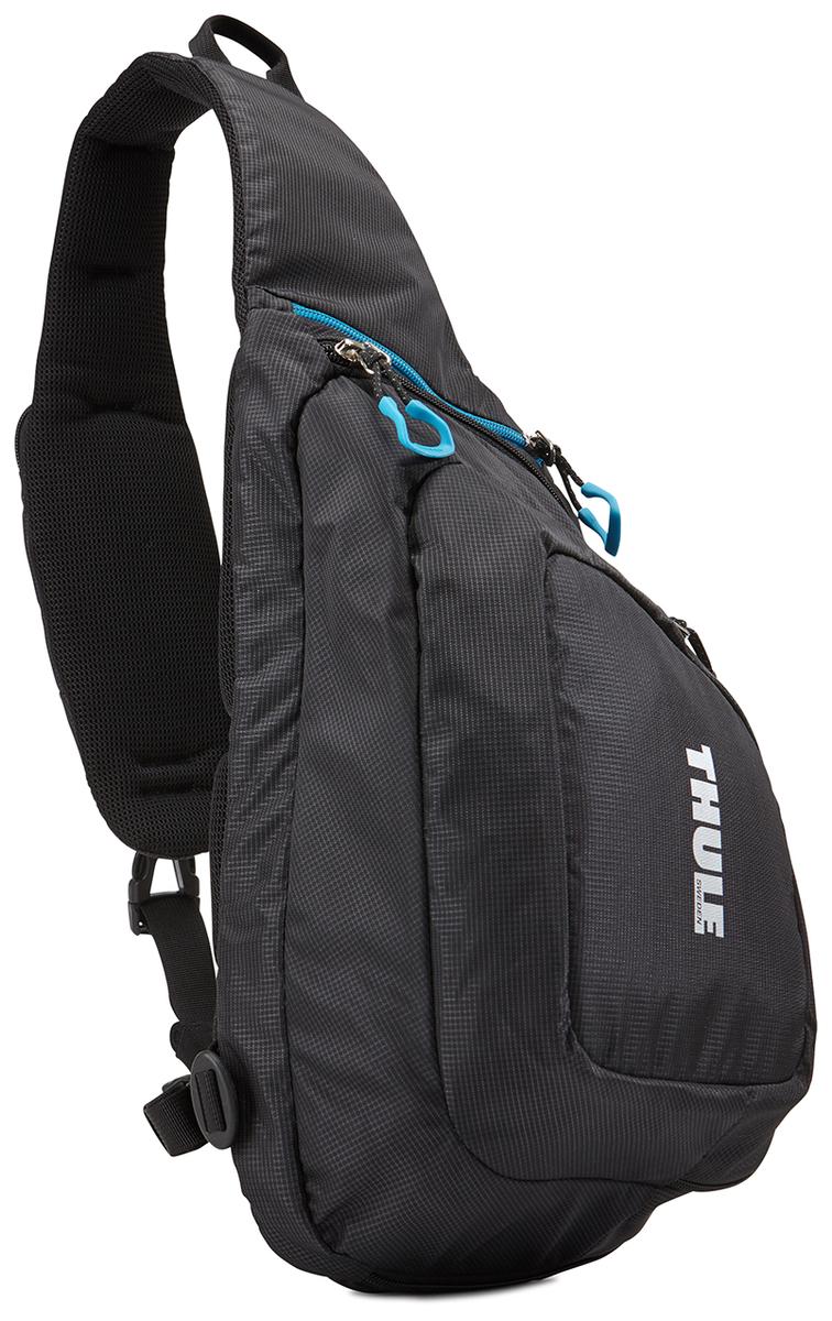Рюкзак-слинг для экшн-камеры Thule Legend GoPro Sling, цвет: черный3203101Рюкзак на одной лямке Thule Legend GoPro - Изящный и легкий рюкзак на одной лямке позволяет вам сохранять мобильность и держать под рукой до двух камер GoPro и аксессуары к ним. Компактный рюкзак на одной лямке с мягким отсеком для двух камер GoPro, LCD Touch BacPac, пульта дистанционного управления, запасных батареек и SD-карт Съемная подкладка из прессованной пены облегчает очистку внутренней поверхности от пыли, грязи, песка и пр. В панели-органайзере можно хранить зарядные устройства, кабели и ремни для крепления Передний отсек идеально подходит для хранения штативов и личных вещей Благодаря конструкции с обтекаемой формой и малым весом сумка не мешает отдыху Большие язычки на молниях обеспечивают удобство доступа даже в том случае, если на вас надеты перчатки Карман на наплечном ремне предоставляет быстрый доступ к пульту дистанционного управления или телефону Нагрудные ремни прочно фиксируют положение рюкзака Отдельный карман с внутренней...