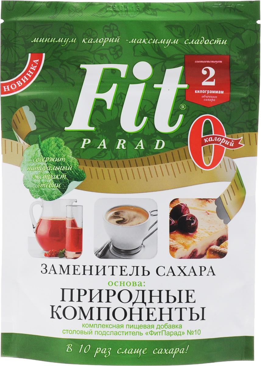 ФитПарад №10 заменитель сахара на основе эритрита, 200 г