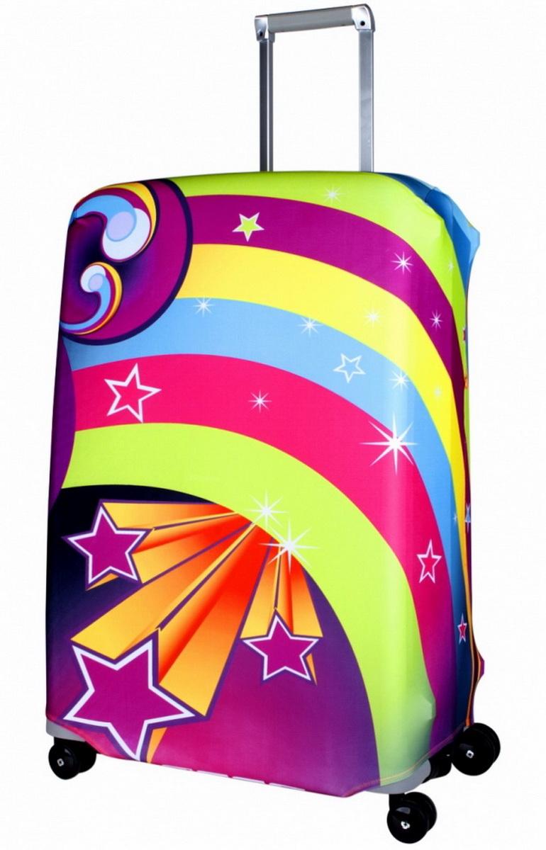 Чехол для чемодана Coverway Lucy, размер L/XL (75-85 см)Luc-L/XLДля больших чемоданов, высотой от 75 до 85 см (29-33 inch) (мерить от пола). Плотность ткани - 240 г/кв.м, упрочненные швы, 2 потайные молнии для боковых ручек с двух сторон. Внизу чехла - молния трактор, дополнительная резинка с фастексом для лучшей усадки. Стойкая сублимационная печать.