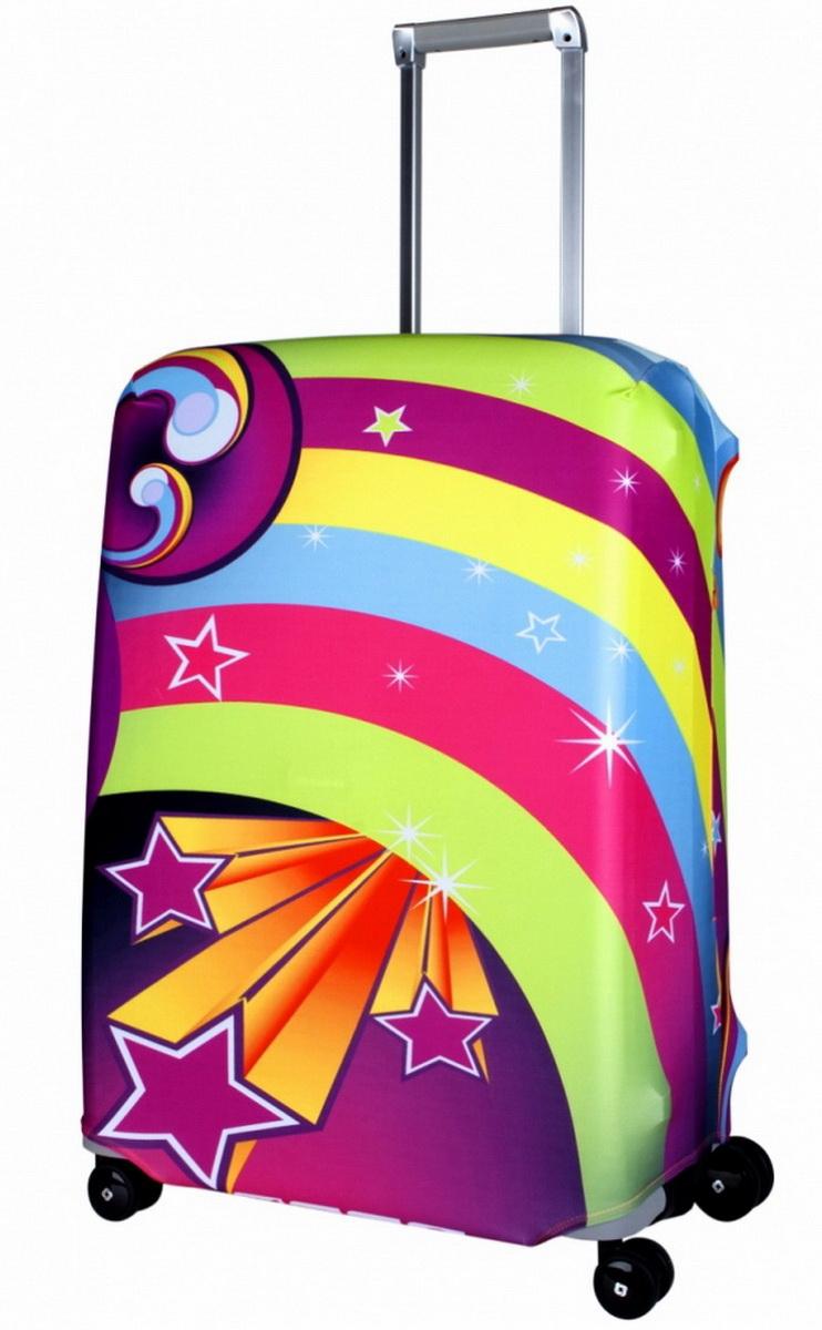 "Чехол для чемодана Coverway ""Lucy"", размер M/L (65-74 см)"