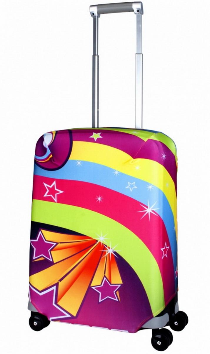 Чехол для чемодана Coverway Lucy, размер S (50-55 см)Luc-SДля чемоданов маленьких размеров, высотой от 50 до 55 см (19-21 inch) (мерить от пола). Плотность ткани - 240 г/кв.м, упрочненные швы, 2 потайные молнии для боковых ручек с двух сторон. Внизу чехла - молния трактор, дополнительная резинка с фастексом для лучшей усадки. Стойкая сублимационная печать.