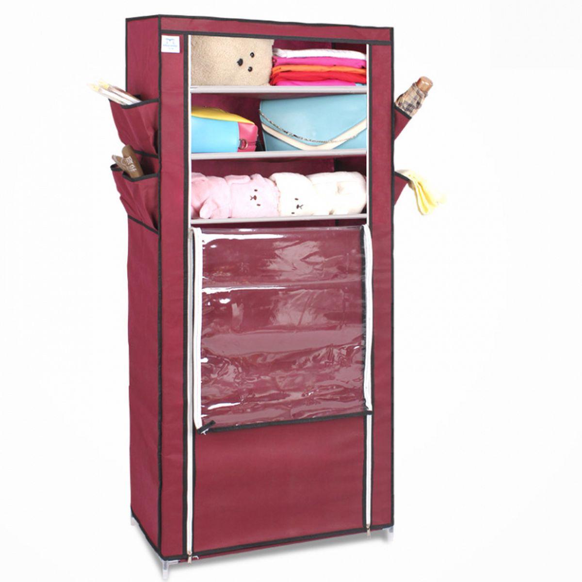 Тканевый шкаф для обуви и аксессуаров Homsu Элис, цвет: бордовый, 60 x 30 x 136 смHOM-96Этот шкаф предназначен для комфортного, практичного и удобного хранения обуви и других предметов в вашем доме. Выполненный в бордовом цвете, такой шкаф вполне может стать полноценным дополнением к вашей уютной домашней обстановке. 8 полок для обуви, шириной 60 см и глубиной 30 см плюс боковые кармашки для тапочек, зонтов и всяких мелочей надолго обеспечат полный порядок в прихожей. Фактический цвет может отличаться от заявленного.