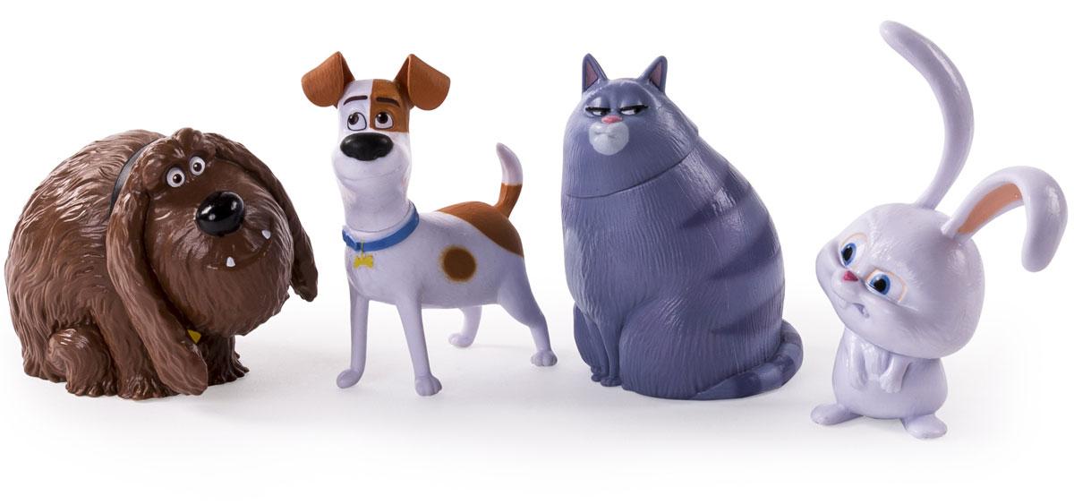 Secret Life of Pets Набор фигурок героев 4 шт728154 фигурки героев в закрытой коробке. Рекомендовано для интернет-магазинов из-за простой упаковки.