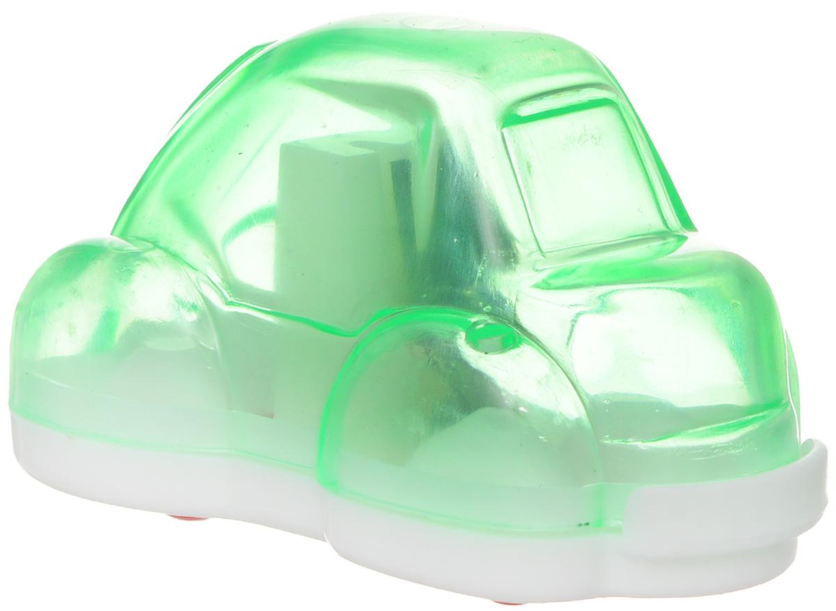 Action! Точилка Авто цвет зеленыйFSH370_зеленыйТочилка Action! Авто предназначена для заточки чернографитных и цветных карандашей. Точилка изготовленная из пластика, с одним отверстием и контейнером. Полупрозрачный контейнер для сбора стружки повышенной вместимости позволяет визуально контролировать уровень заполнения и вовремя производить очистку. Для увеличения срока службы точилки производите ее очистку после каждой заточки карандаша.