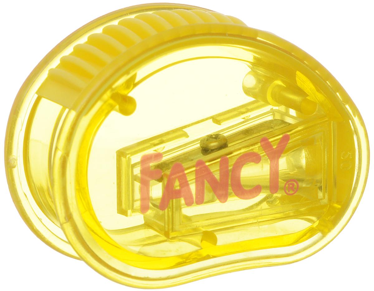 Action! Точилка Рикки-Тикки цвет желтыйFSH350_желтыйТочилка Action! Рикки-Тикки предназначена для заточки чернографитных и цветных карандашей. Точилка изготовленная из пластика, с одним отверстием и небольшим контейнером. Полупрозрачный контейнер синего цвета для сбора стружки позволяет визуально контролировать уровень заполнения и вовремя производить очистку.
