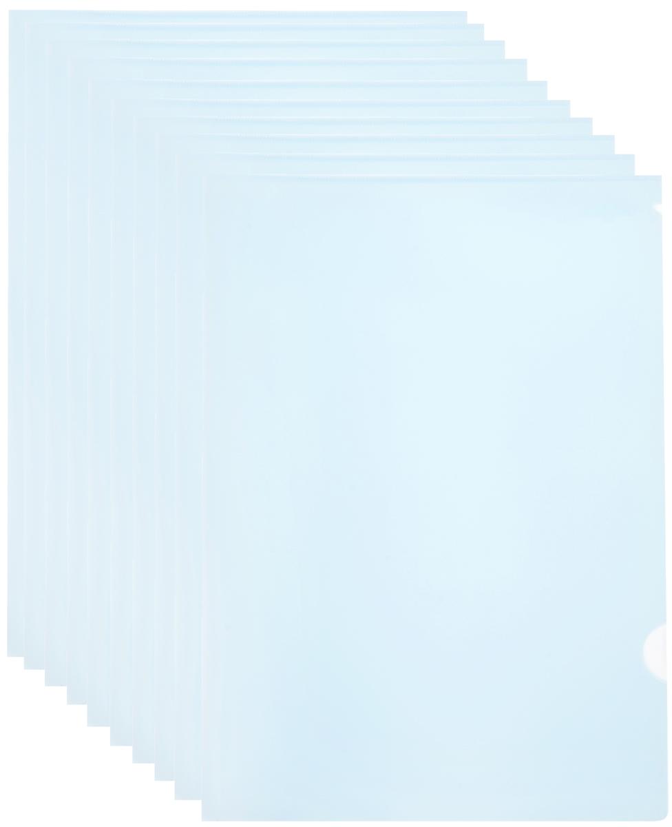 Durable Папка-уголок цвет прозрачный 10 шт