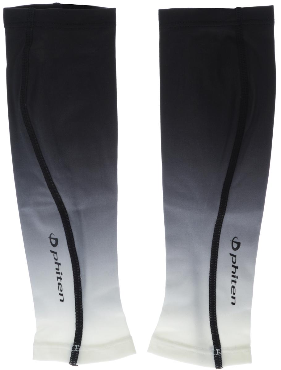 Гетры силовые Phiten X30, цвет: черный, серый, белый. Размер L (36-43 см)SL529005Компрессионные спортивные гетры Phiten X30, выполненные из 85% полиэстера и 15% полиуретана, идеально подходят для всех, кто занимается спортом. Благодаря пропитке Aqua Titan, гетры увеличивают эластичность мышц, улучшают кровообращение, не допускают возникновения мышечных спазмов и болевых ощущений, а также хорошо поглощают и испаряют пот, что позволяет продлить ощущение комфорта. Ваши утренние пробежки и тренировки в спортивном зале будут проходить комфортно и эффективно. Такие гетры незаменимы для бега на любые дистанции, всех игровых видов спорта. Силовые гетры Phiten X30 способствует: - улучшению циркуляции крови в организме; - разгрузке поврежденного сустава; - уменьшению усталости; - снятию излишнего напряжения и скорейшему восстановлению сил; - обеспечивают компрессионный эффект.