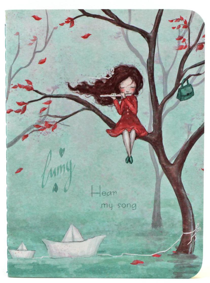Lumy Блокнот Hear My SongLHS-NB01