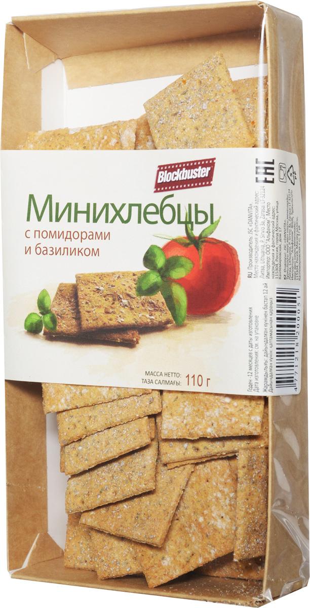 Blockbuster Хлебцы с помидором и базиликом, 110 г