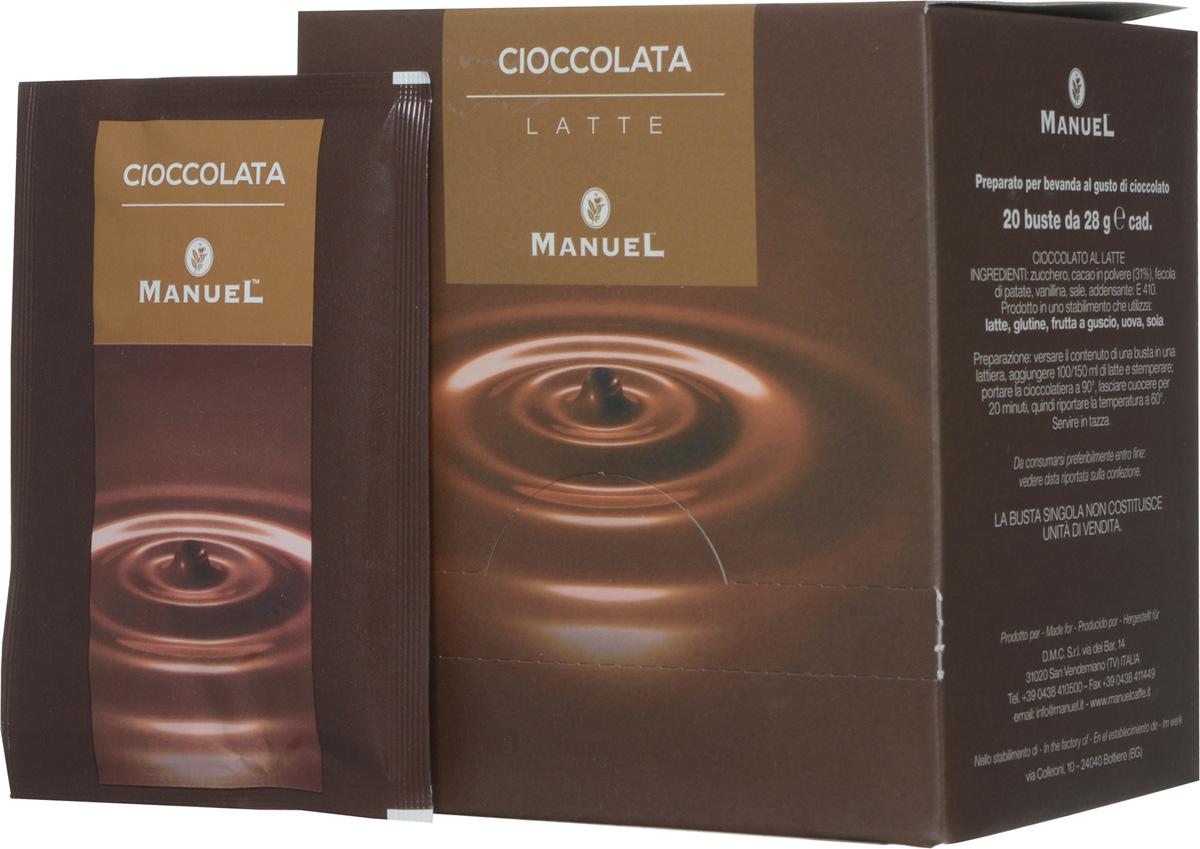Manuel Chioccolata Latte горячий шоколад, 560 г ( 8006536200107 )