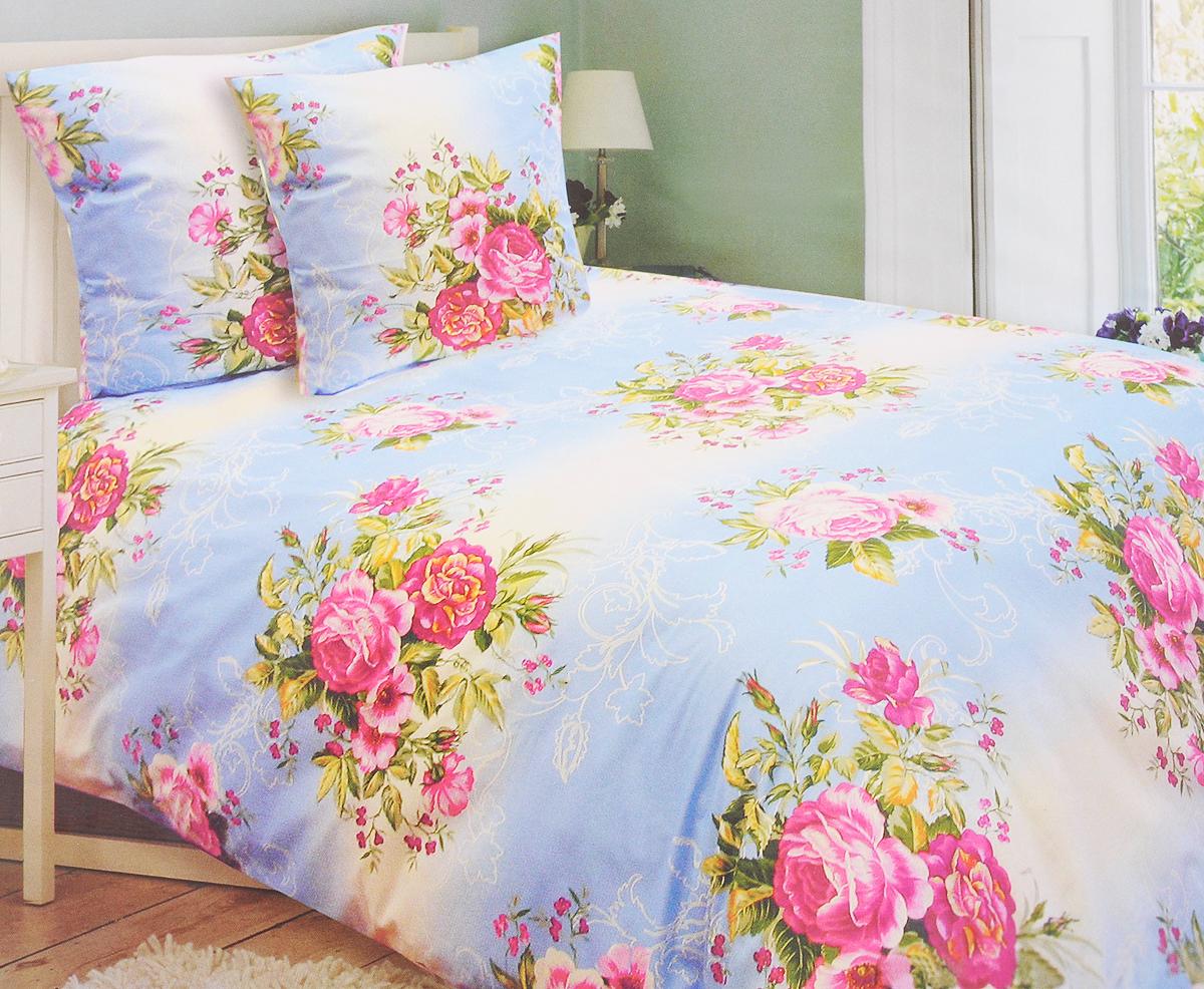 Комплект белья Катюша Ностальгия, 1,5-спальный, наволочки 70х70, цвет: белый, голубой, бордовыйC-129/3936Комплект постельного белья Катюша Ностальгия является экологически безопасным для всей семьи, так как выполнен из бязи (100% хлопок). Комплект состоит из пододеяльника, простыни и двух наволочек. Постельное белье оформлено оригинальным рисунком и имеет изысканный внешний вид. Бязь - это ткань полотняного переплетения, изготовленная из экологически чистого и натурального 100% хлопка. Она прочная, мягкая, обладает низкой сминаемостью, легко стирается и хорошо гладится. Бязь прекрасно пропускает воздух и за ней легко ухаживать. При соблюдении рекомендуемых условий стирки, сушки и глажения ткань имеет усадку по ГОСТу, сохранятся яркость текстильных рисунков. Приобретая комплект постельного белья Катюша Ностальгия, вы можете быть уверенны в том, что покупка доставит вам и вашим близким удовольствие и подарит максимальный комфорт.