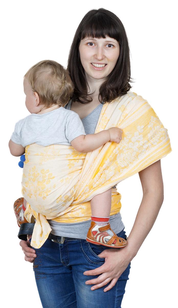 Чудо-Чадо Слинг-шарф Герба цвет рыжийСШЛ01-001Специальное плетение Ткань, из которой сшиты слинг-шарфы Герба, имеет диагональное жаккардовое плетение. Это идеальная ткань для шарфов. Она не растягивается и не провисает. Слинг из такой ткани хорошо распределяет нагрузку на спину взрослого, отлично облегает, обеспечивает безопасную поддержку для позвоночника малыша. Двусторонний Жаккардовая ткань не имеет изнанки, один и тот же узор выступает с обеих сторон, меняется только сочетание цветов, так что Вам не надо ломать голову в поисках лицевой стороны. А благодаря особенностям жаккардового плетения он замечательно вентилируется. Мягкий сразу из коробки Мы выбрали эту ткань еще и потому, что она не требует разнашивания и многочисленных стирок. Слинг Герба мягкий сразу из коробки и поэтому отлично подходит для новорожденных. Сочетание преимуществ льна и хлопка Слинг-шарфы Герба на 30% состоят из льна и на 70% - из хлопка. Они сочетают в себе преимущества обоих видов тканей. Лен...
