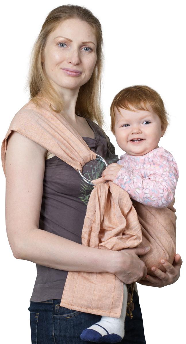 Чудо-Чадо Слинг с кольцами Ноктюрн цвет медный Размер M (48-54)СКН03-00MПреимущества: Легкая, натуральная, дышащая ткань (лен 100%) Плотно облегает малыша и за счет бандажного эффекта снимает нагрузку с неокрепшего позвоночника Мягкие бортики (валики) создают малышу дополнительный комфорт Широкое мягкое плечо со специальными складками облегает плечевой сустав и делает ношение более комфортным Особенности: Хвост слинга заделан в виде двойного вместительного кармашка Ширина 65 см Перед использованием рекомендуется пару раз постирать и хорошо прогладить утюгом – слинг приобретет особую мягкость Хвост заделан в виде двойного вместительного кармана (с лицевой стороны – на пуговке, на обратной стороне – без застежки) Кольца несъемные