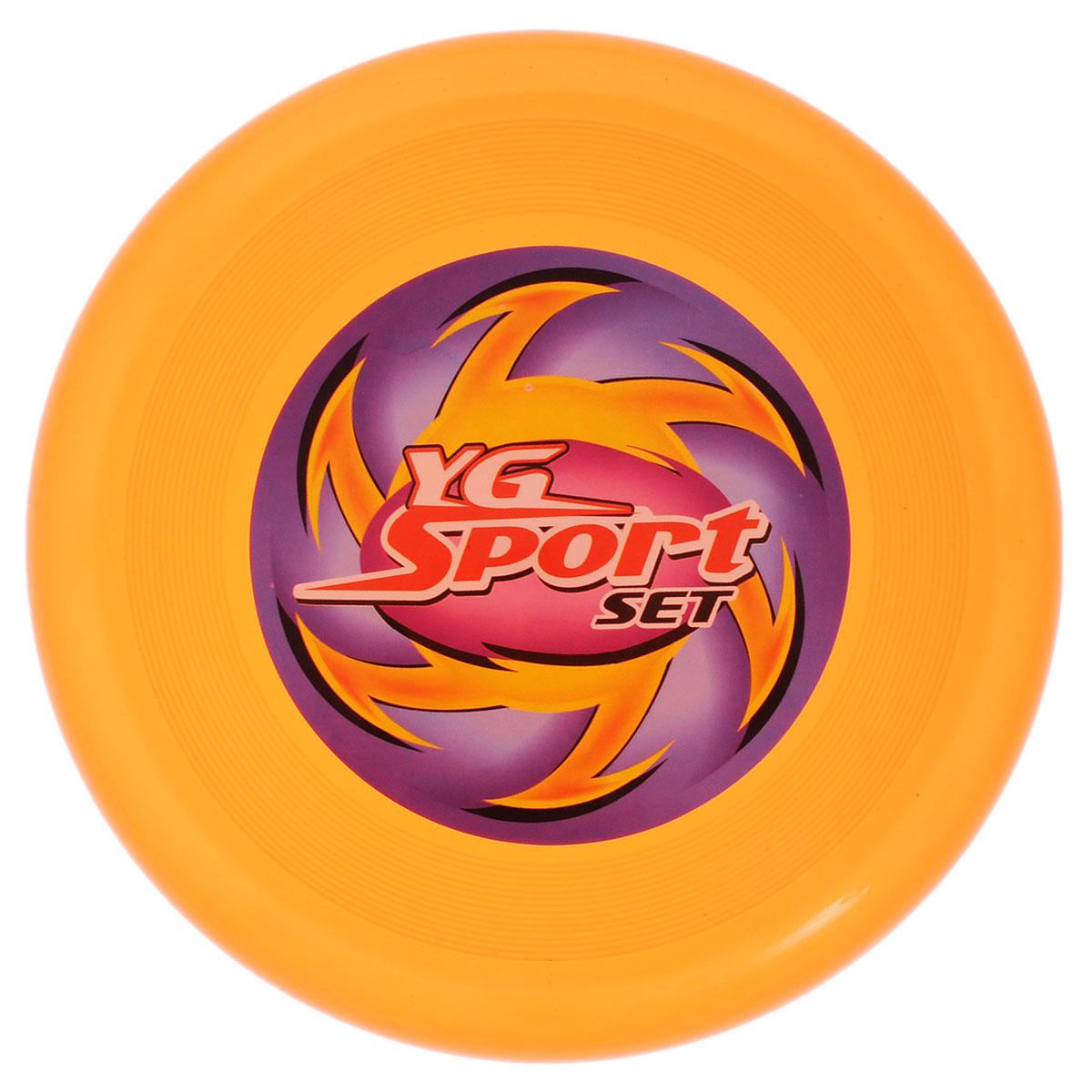 YG Sport Летающий диск цвет оранжевыйYG03JЛетающий диск YG Sport выполнен из прочного материала, что обеспечивает ему долговечность. А яркость и особая форма делают его идеальным для спортивных развлечений! Летающий диск способен поднять настроение всем! Каждый ребенок будет рад такому яркому и спортивному подарку.