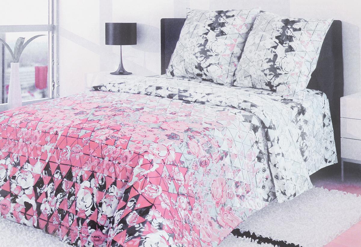 Комплект белья Блакiт Соната, семейный, наволочки 50х70, цвет: серый, черный, розовый35174458Комплект постельного белья Блакiт Соната является экологически безопасным для всей семьи, так как выполнен из бязи (100% хлопок). Комплект состоит из двух пододеяльников, простыни и двух наволочек. Постельное белье оформлено оригинальным рисунком и имеет изысканный внешний вид. Бязь - это ткань полотняного переплетения, изготовленная из экологически чистого и натурального 100% хлопка. Она прочная, мягкая, обладает низкой сминаемостью, легко стирается и хорошо гладится. Бязь прекрасно пропускает воздух и за ней легко ухаживать. При соблюдении рекомендуемых условий стирки, сушки и глажения ткань имеет усадку по ГОСТу, сохранятся яркость текстильных рисунков. Приобретая комплект постельного белья Блакiт Соната, вы можете быть уверенны в том, что покупка доставит вам и вашим близким удовольствие и подарит максимальный комфорт.