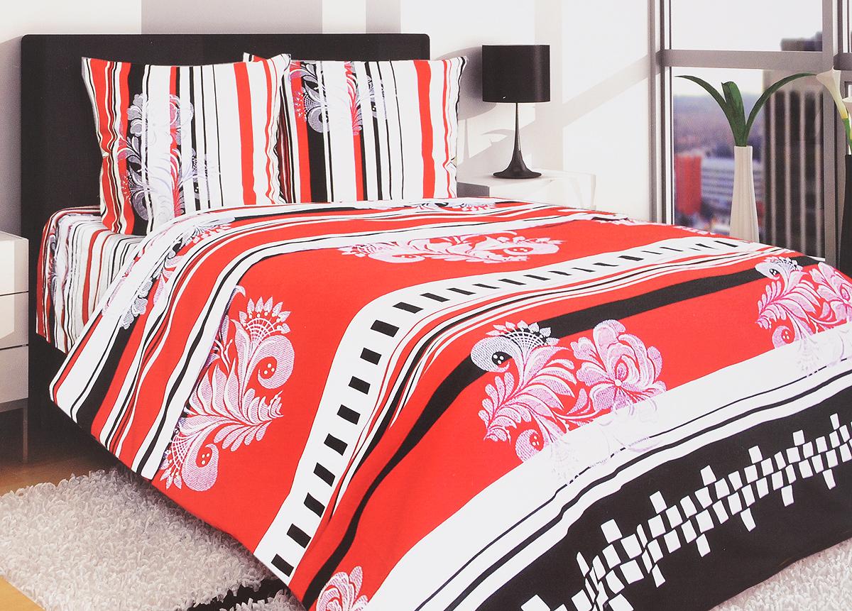 Комплект белья Блакiт Пиковая дама, евро, наволочки 50х70, цвет: белый, черный, красный05663733Комплект постельного белья Блакiт Пиковая дама является экологически безопасным для всей семьи, так как выполнен из бязи (100% хлопок). Комплект состоит из пододеяльника, простыни и двух наволочек. Постельное белье оформлено оригинальным рисунком и имеет изысканный внешний вид. Бязь - это ткань полотняного переплетения, изготовленная из экологически чистого и натурального 100% хлопка. Она прочная, мягкая, обладает низкой сминаемостью, легко стирается и хорошо гладится. Бязь прекрасно пропускает воздух и за ней легко ухаживать. При соблюдении рекомендуемых условий стирки, сушки и глажения ткань имеет усадку по ГОСТу, сохранятся яркость текстильных рисунков. Приобретая комплект постельного белья Блакiт Пиковая дама, вы можете быть уверенны в том, что покупка доставит вам и вашим близким удовольствие и подарит максимальный комфорт.